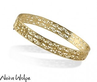 Mesmerizing Moroccan Gold Bracelet