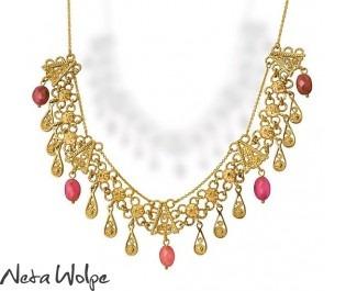 Elegant Toumanline Gold Necklace
