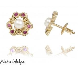 Pearl Vintage Bridal Earrings