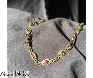 Multi Gem Bracelet