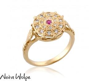 Carmen Diamond & Ruby Ring