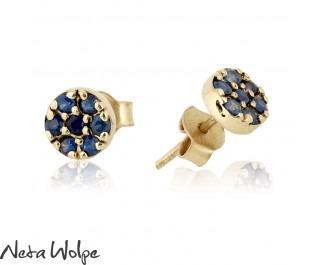 Sapphire Sparklers Earrings