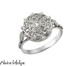 Carmen 18k White Gold Diamond Ring