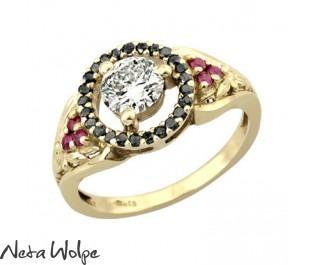 Diamond Floating Halo Ring