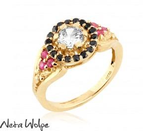 Royal Diamond Halo Ring