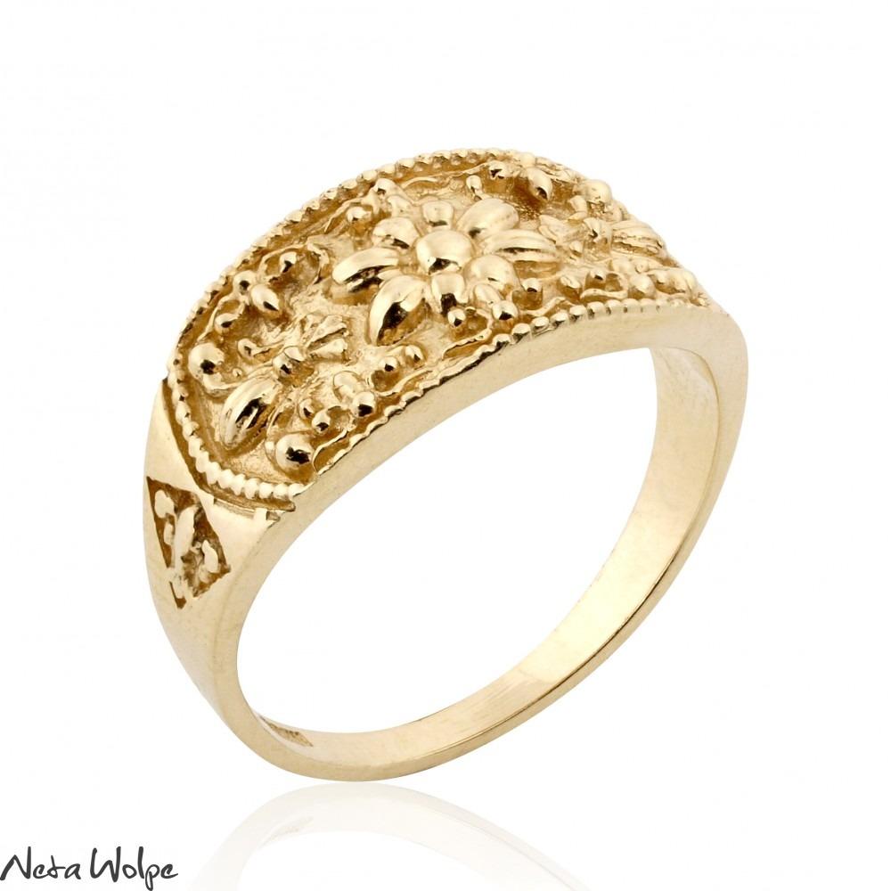 Royal Egyptian Gold Ring