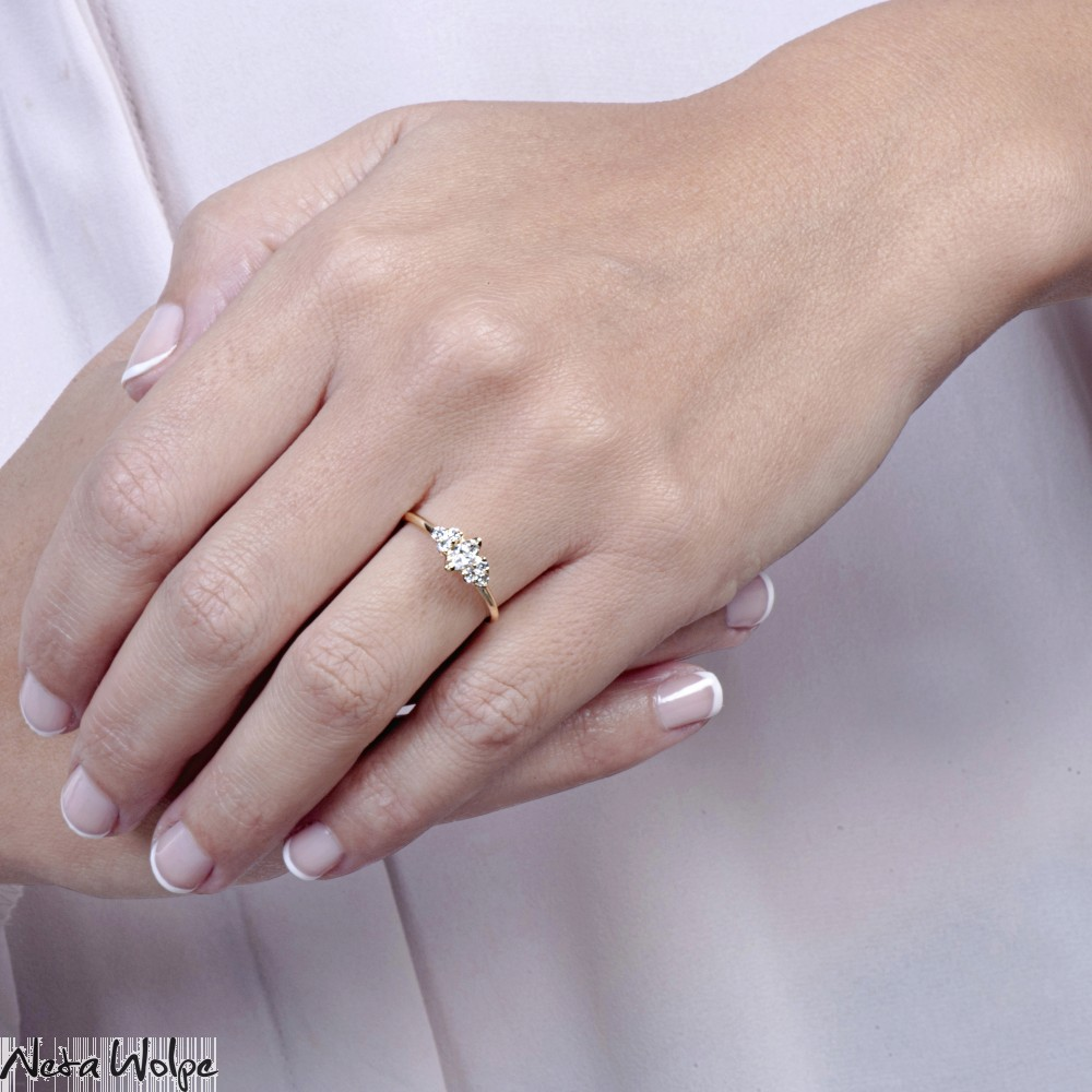 Side Stone Ring | Neta Wolpe