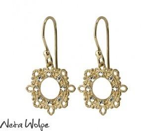 Enchanting Filigree Diamond Earrings