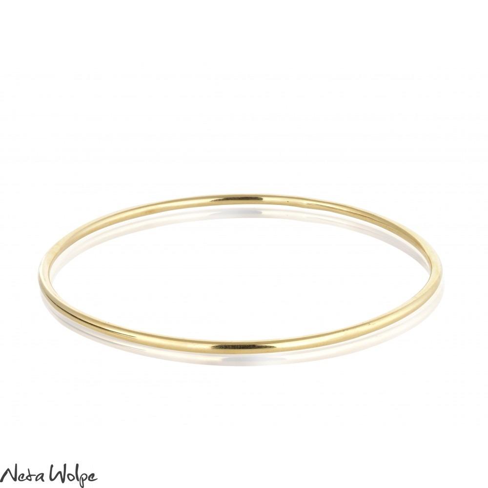 Bridal Gold Bangle | Neta Wolpe