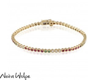 Multi-gemstone Timeless Bracelet