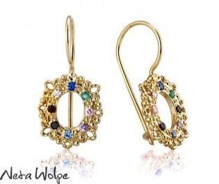 Antique Gemstone Earrings
