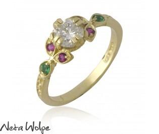 Festive Engagement Ring