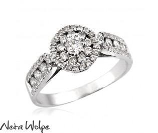 Exquisite Diamond Ring