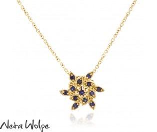 Victorian Style Sapphire Pendant