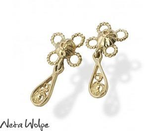Filigree Floral Earring