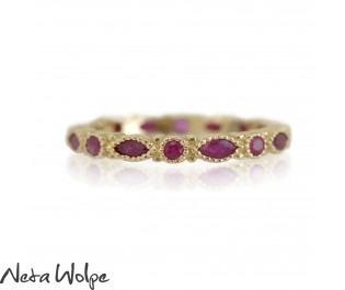 Edwardian Ruby Eternity Ring