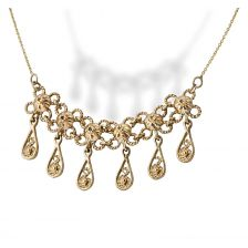 Enchanting Moroccan Style Gold Necklace
