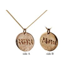 Personalized Mom Double Sided Necklace