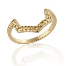 Yellow Gold Unique Ring