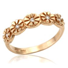 Engraved Art Deco Style Ring