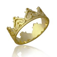 Yellow Gold Crown Ring
