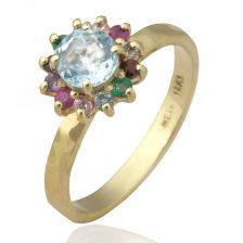 Colorful Diana Ring