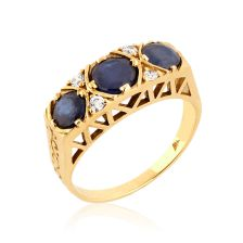 Yellow Gold Victorian Style Ring