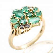 The Emerald Blossom Ring