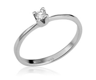 Sleek Solitaire Ring