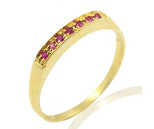 Pave Ruby Opulent Band