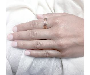 Gorgeous Rose Gold Stackable Rings