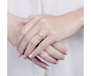 Festive Stackable Rings