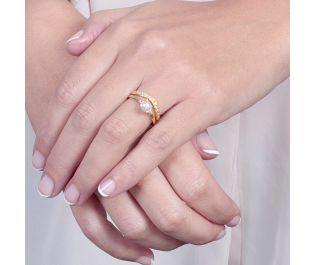 Classic Pearl Stackable Rings