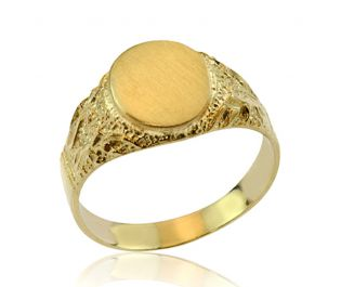 Timeless Oval Signet Ring
