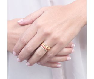 Dreamy Gold Stackable Rings